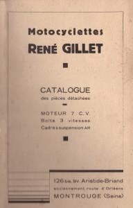 René Gillet - 3-Gang Hinterradfederung