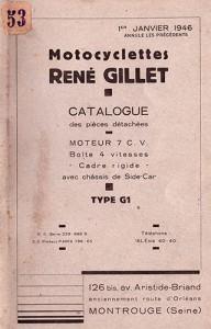 René Gillet - 4-Gang ohne Hinterradfederung